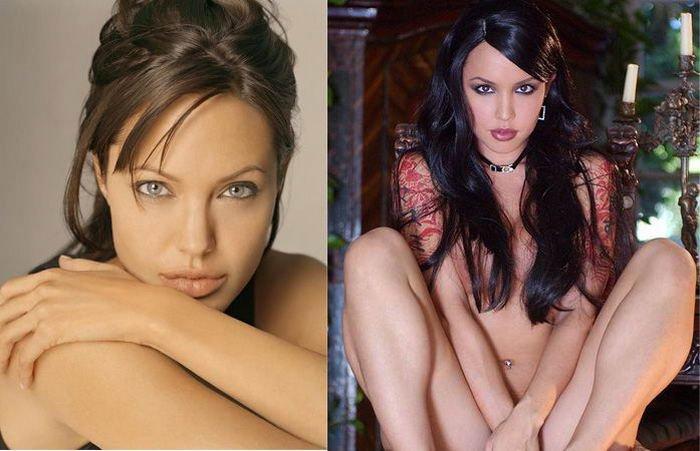Порно фото двойников знаменитостей 3 фотография