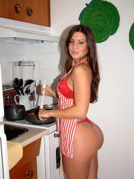 на любительский секс кухне