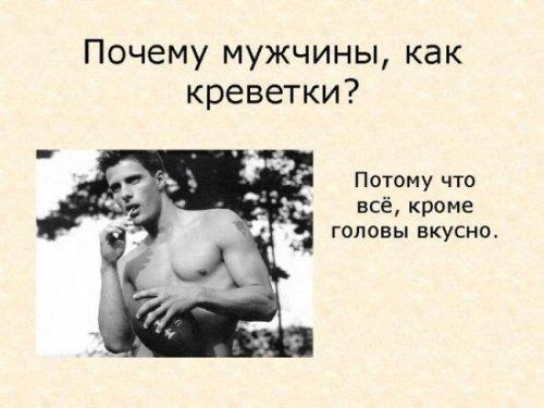Женский взгляд на мужчин (11 фото)