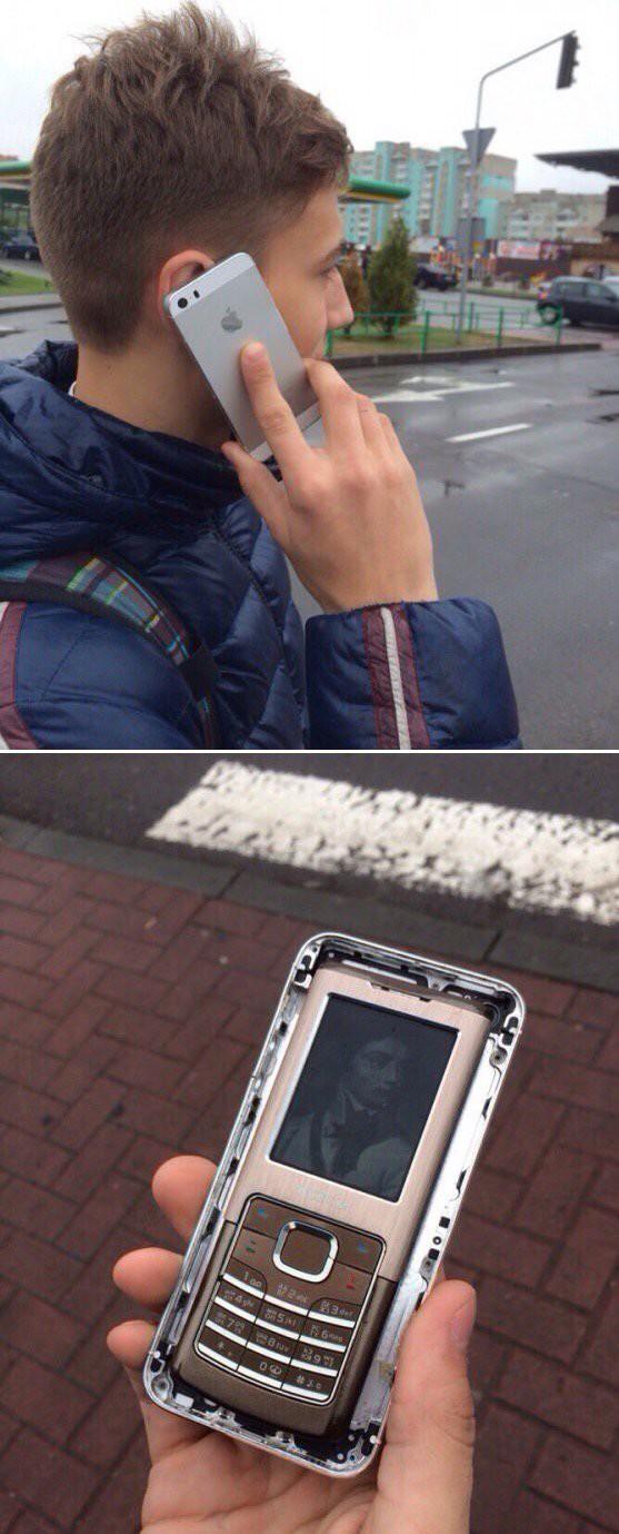 Бюджетный айфон