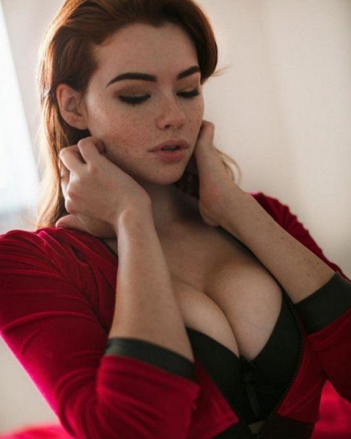 15 фото красивых рыжих девушек